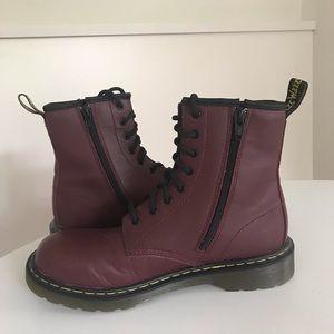 Dr. Martens Delaney Youth Boot - big girls size 5